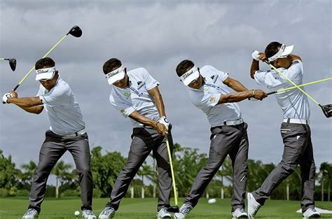 justin rose swing sequence swing sequence thongchai jaidee australian golf digest
