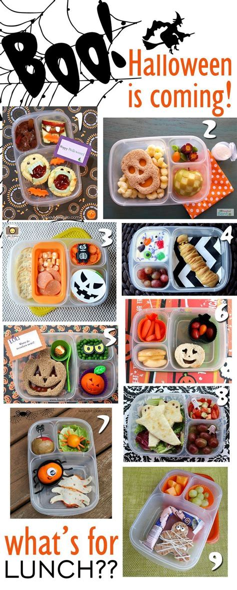 halloween themed lunch a frighteningly extensive collection of halloween themed