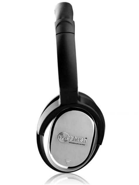 NoiseHush i7 - Active Noise-cancelling Headphones - Black