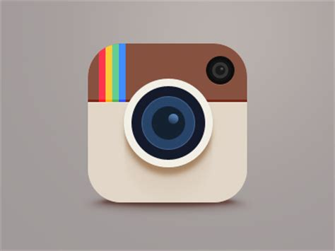 material design instagram icon instagram updated with brand new icon and flat design