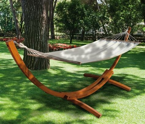 supporto per amaca amaca con supporto in legno di larice mod tindari