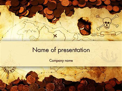 semantic map ancient keynote presentation pirate treasure map presentation template for powerpoint