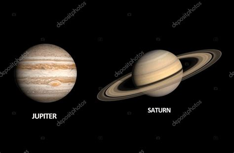 Clear St Planets planets jupiter and saturn stock photo 169 tristan3d 35623071