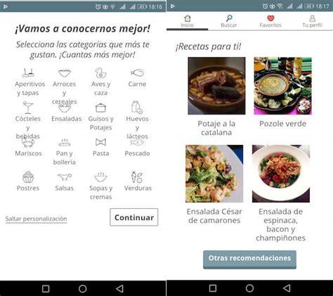 descargar recetas de cocina gratis 5 apps con recetas de cocina para aprender a cocinar