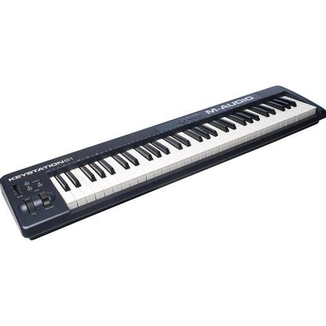 M Audio Keystation by M Audio Keystation 61 Ii Midi Controller Keystation61ii B H