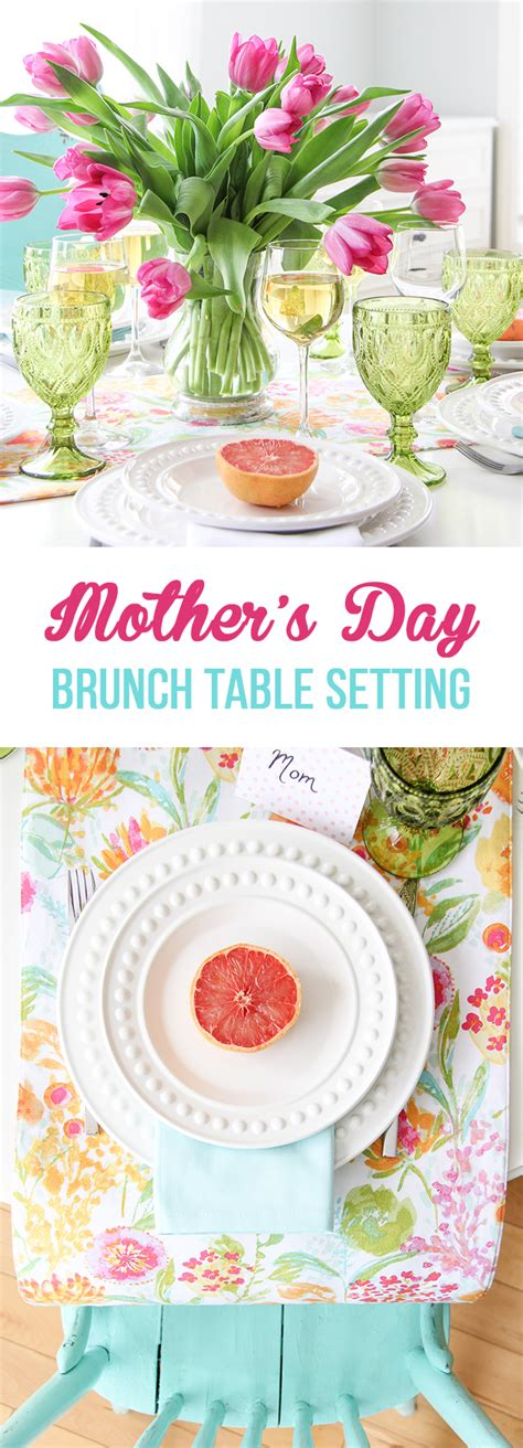 mother s day brunch table setting a pretty life in the mother s day brunch table setting a pretty life in the