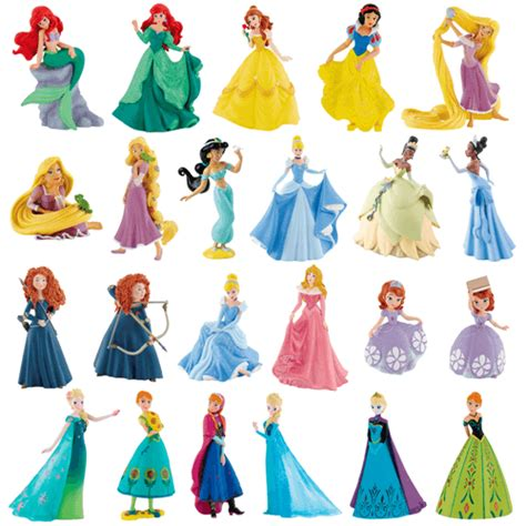 Figure Princess disney princess figures cake topper decorations