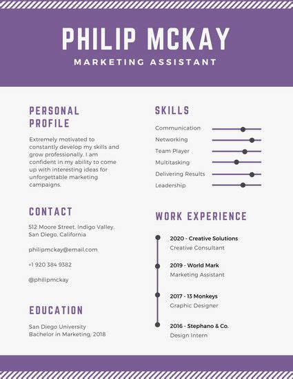 Customize 39 Timeline Infographic Templates Online Canva Timeline Resume Template
