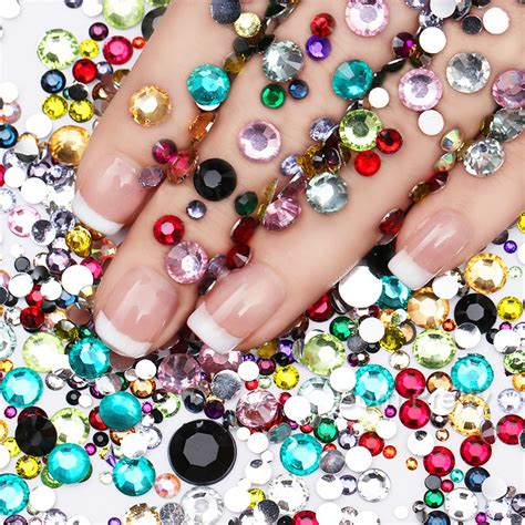 Mixed Color Chameleon 3d Nail Rhinestones Nail Ar Diskon born pretty store quality nail lifestyle