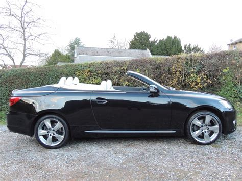 convertible lexus used 2009 lexus is 250c se l convertible automatic for