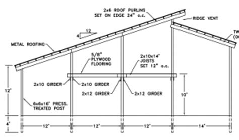 Pole Barn With Loft Plans by Free Post Frame Building Plans For Post Frame Pole