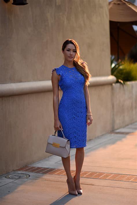 Zahra Dress blue lace zara dress hapa time