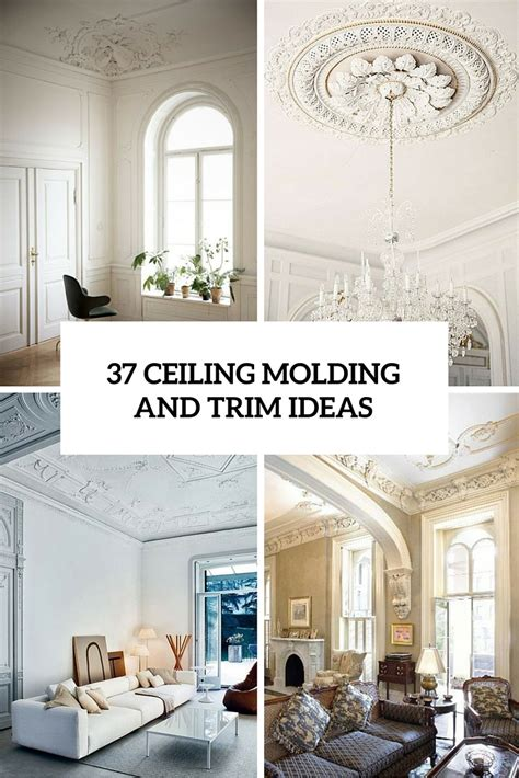 Ceiling Moulding Design 37 ceiling trim and molding ideas to bring vintage chic