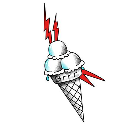 gucci mane ice cream temporary tattoo