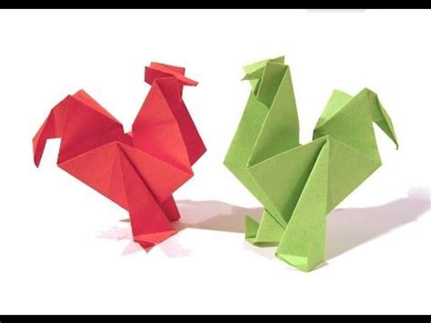Origami Chicken Easy - 286 best images about new year on