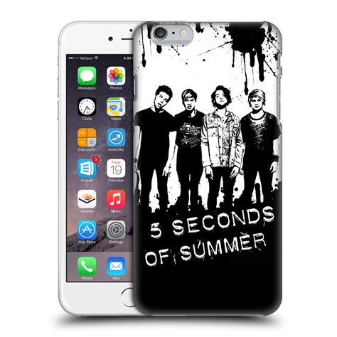 5 Seconds Of Summer Book Of Stuff Iphone All Hp pouzdra obaly a kryty na mobil apple iphone 6 plus a 6s plus