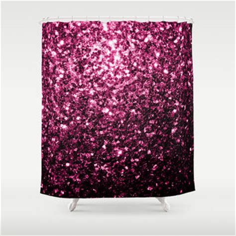 pink sparkle curtains shop pink glitter curtains on wanelo
