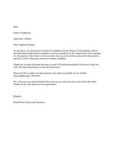 rejection letter template rejection letter templates pdf files