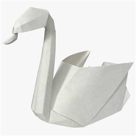 A Paper Swan - 3ds origami swan