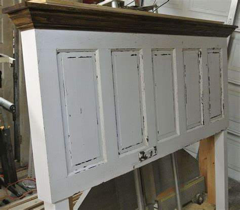how to make a panel headboard 5 panel 90 yr old door converted into a king size door