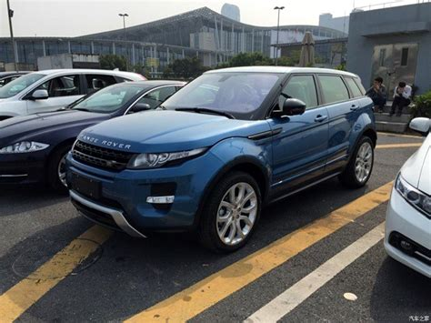 range rover where are they made china made range rover evoque spotted ahead of world debut