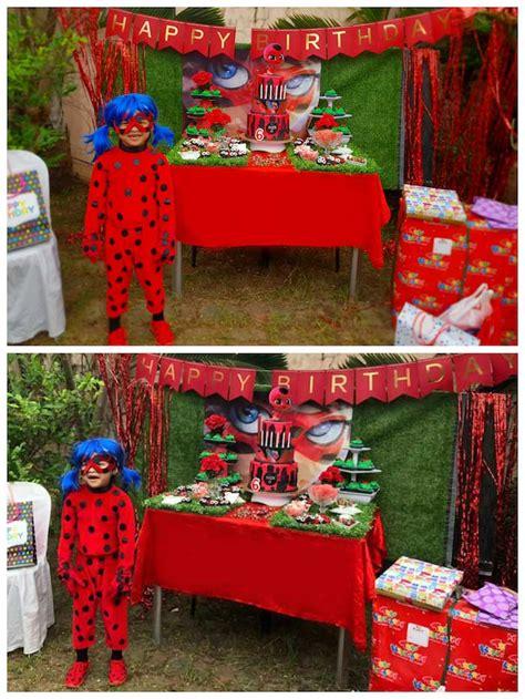 Karas Party  Ee  Ideas Ee   Miraculous Ladybug  Ee  Birthday Ee   Party
