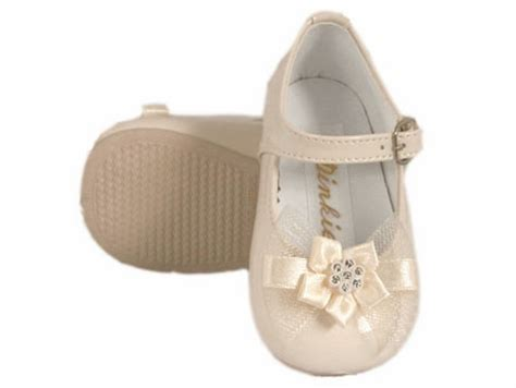 baby patent leather shoes ivory dinkie infant patent leather shoes