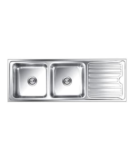 Buy Nirali Kitchen Sink Double Bowl Luxor Small Anti Nirali Kitchen Sinks