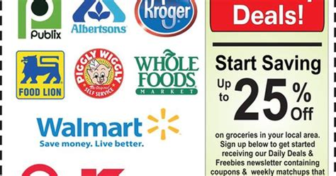 printable grocery coupons no registration over 5000 free printable coupons for you to save weekly at