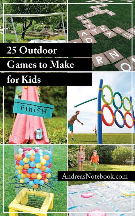 backyard picnic games 25 outdoor games to make for kids i m definitely making