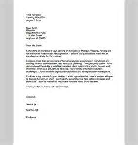 Cover Letter Hr Manager by Cover Letter Template For Hr Manager Sle Of Hr Manager