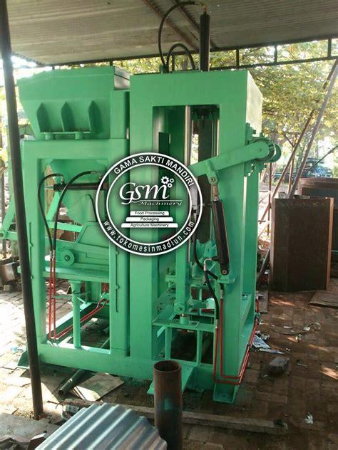Harga Cetakan Batako Hidrolik mesin cetak batako hidrolis toko mesin madiun