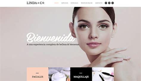 plantillas web html de cabello y belleza wix