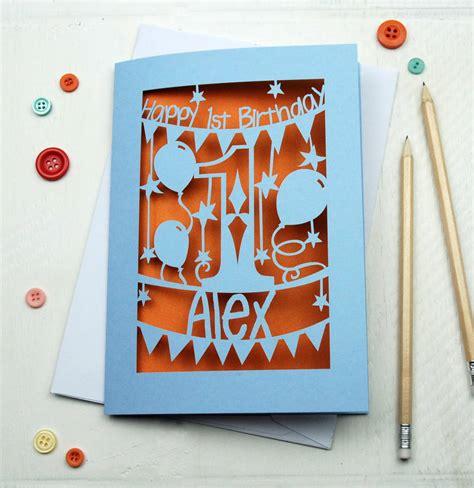 Alised First  Ee  Birthday Ee   Card By Pogofandango