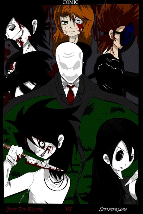 imagenes reales de jeff the killer vs slenderman jeff the killer vs slenderman title by reuky on deviantart