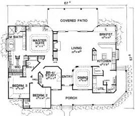 New One Story House Plans Marvelous One Story Country House Plans 8 Single Story