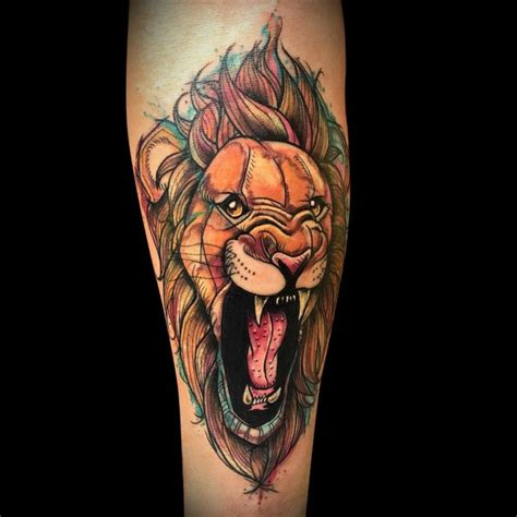 150 realistic lion tattoos and meanings april 2018
