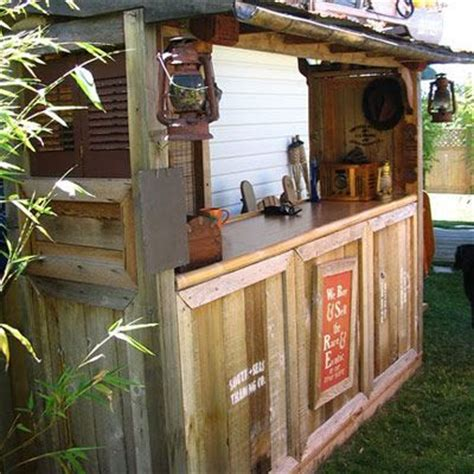 diy backyard bar outdoor tiki bar plans free woodworking projects plans