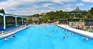 aussen schwimmbad hathersage swimming pool in derbyshire heated outdoor