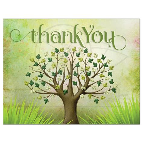 Kitchen Bar Designs by Spring Tree Of Life Thank You Postcard