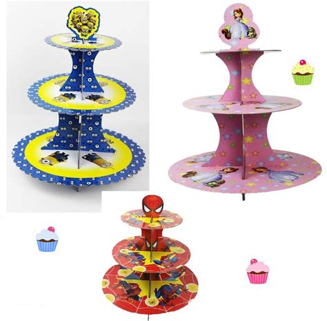 Cupa Cake Stand Paper Sofia Pink tiered cupcake stand shop 2 tiers cupcake stand
