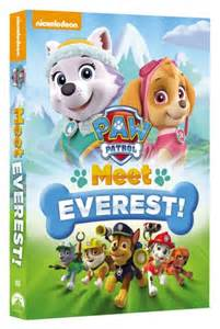 Paw patrol meet everest dvd giveaway pawsitive living