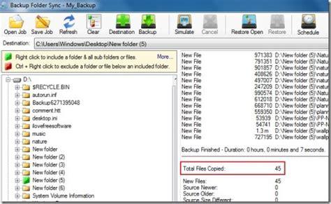 best free folder synchronization utility free file and folder synchronization software free
