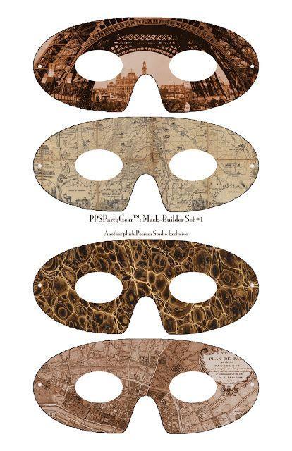 printable possum mask 50 best images about de steunk soci 235 teit on pinterest