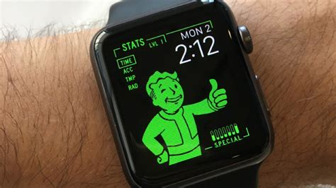design apple watch face this apple watch pipboy is all the smartwatch i ever need