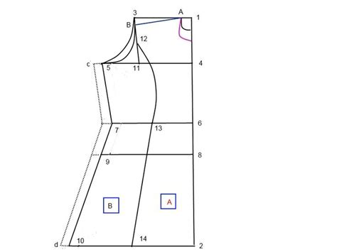 kurta pattern drafting how to stitch a princess cut kameez top sewing tutorials