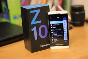 blackberry z10 unboxing youtube