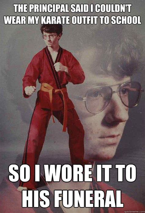 Nerd Karate Kid Meme - the best of karate kyle contest