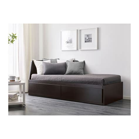 Bed For Small Space by Flekke Daybed Frame With 2 Drawers Ikea