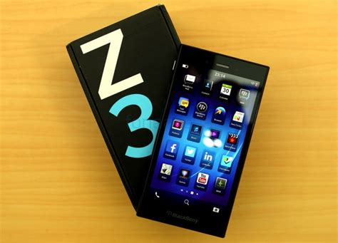 Led Bb Z3 blackberry z3 unboxing